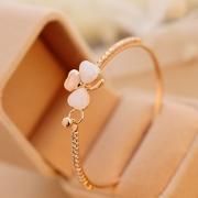 Bracelet Doux Stylé à la Mode avec les Cristaux