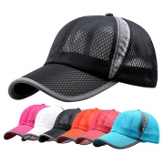 Fashion Baseball Unisex Sunscreen Veisor Mesh Cap