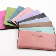 Retro Style Letters Printed Long Wallet