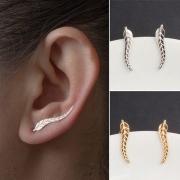 Boucles d'Oreillles/Bijoux / Accessoires Pour Femmes Chic à la Mode Sous la Forme de la Feuille