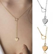 Collier Pendentif Coeur Style Doux