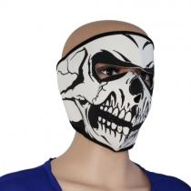 Néoprène Skull Full Face réversible moto vélo Masque
