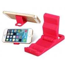 Titulaire de plastique Portable Mini pour l'iPhone 4 4s 5 5s 5c iPod Touch Samsung Galaxy Note 2 3 (ensemble de 2, couleur au hasard) s4 s3