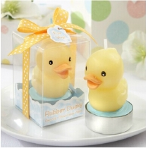Set of 2 Rubber Ducky Candle