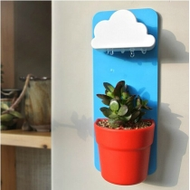 Rain Clouds Pots Rainy Pot Creative Wall-mounted Flower Pot