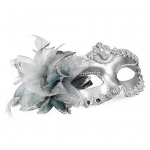 Vénitien style Masque Argent yeux Costume mascarade de mardi