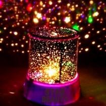 LED Lampe de Chevet de la Voûte Etoilée avec un Câble de USB Magnifique Romantique Projecteur
