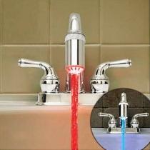 LED robinet d'évier de cuisine buse du pulvérisateur