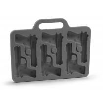 Élégant en forme de pistolet silicone Ice Cube Tray moule de moule