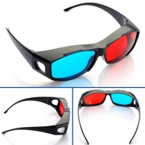 Lunettes 3D Glasses Direct-3D - Nvidia 3D Vision Intégrale lunettes anaglyphes 3D - conçue pour s'adapter sur Lunettes