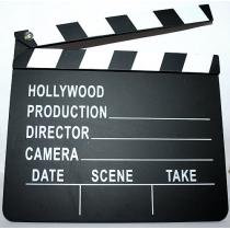 Film Film Slateboard Clapper directeur de Hollywood