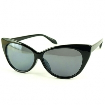 Star Leopard Imprimer Cat Eye Sunglasses Shades