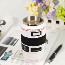 lentille de l'appareil photo de mode de café tasse de thé