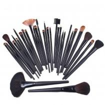Pinceaux de Maquillage Cosmétiques Professionnels 32 pcs avec une Trousse de Toilette