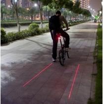 Lampe/Feu Arrière/Eclairage LED Pour Vélo Spécial Inventif Sécuritaire Extraordinaire