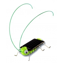 Adorable énergie solaire Robot insectes Bug de sauterelle de sauterelle jouet enfant