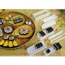 Kit Maker 10Pcs/set de riz de sushi Moules