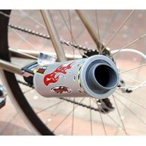 Système d'échappement de vélos