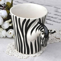 Mode Zebra main tasse à café