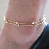 Chaîne de Cheville Elégante Chic à la Mode avec des Décorations de Perles Bracelet