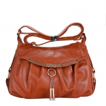 Fashion Metal Pendant Shoulder Messenger Bag