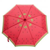 Pastèque Imprimer Compact parapluie pliant pour la pluie