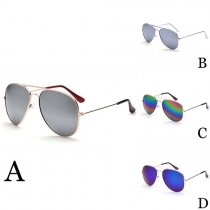 Retro Colorful Anti-UV Unisex Sunglasses