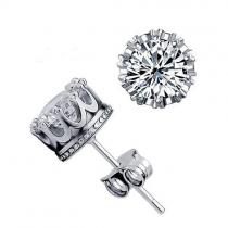 Fashion Imitation Rhinestone Stud Earrings