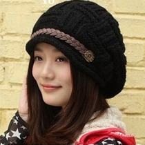 Bonnet de Laine Elégant à la Mode Pour les Femmes
