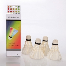 4pcs/Set LED Glowing Badminton