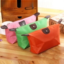 Candy Color Waterproof Cosmetic Bag
