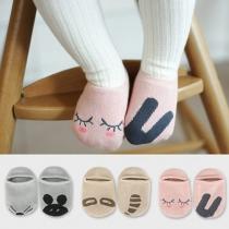 Chaussettes Pour les Enfants Douces Mignonnes à la Mode avec les Motifs