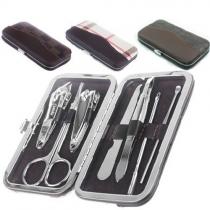 Box Portable d'ensemble d'outils de manucure 7 En 1