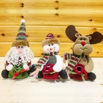 Cute Santa Claus/Snowman/Elk Christmas Candy Bag