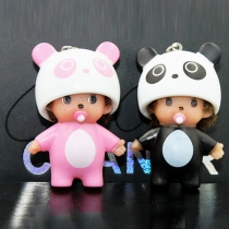 Cute Monchhchi Panda Ornament