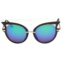 Lunettes de Soleil à la Mode Anti-UV dans un Style d'œil de Chat
