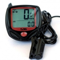 Waterproof LCD Display Cycle Computer Chronograph