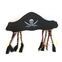 Style Unique-Chapeau de Pirate avec des Tresses Halloween