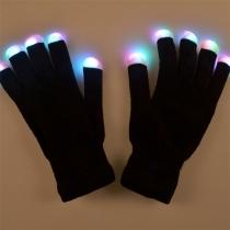 Gants Lumineux LED Colorés Créatifs