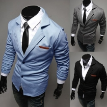Veste/Blazer Stylé à la Mode à Manches Longues Pour Hommes