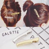 Chic Style Comb-shaped Hairpin 2 pic/set