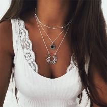 Collier/Bijoux / Accessoires Pour Femmes Chic à la Mode Multi-Rangs