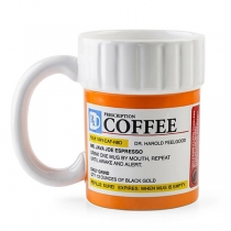 Creative Style Prescription Coffee Mug Ceramic Cup