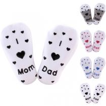 Chaussettes Douces Mignonnes à la Mode à Imprimés Pour les Bébés(2 paires)