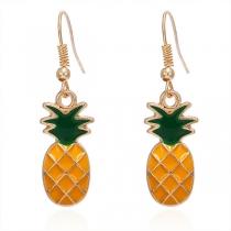 Boucles d'oreilles en Forme d'ananas