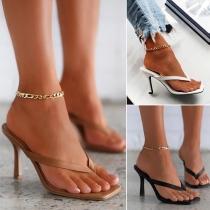 Sandales à Talons Hauts à la Mode