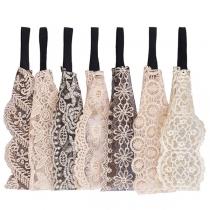 Fashion Lace Spliced Hair Band