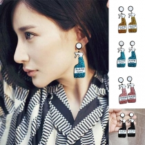 Creative Style Insecticide Spray Shaped Earrings