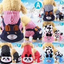 Vêtements à Capuche pour Animaux de Compagnie à Motif Animal de Style Mignon