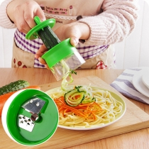 Creative Style Multifunctional  Rotating Shredder Kitchen Tool Vegetable Slicer Cutter
